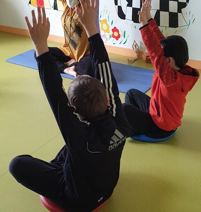 Instant zen pour nos élèves de CP-CE